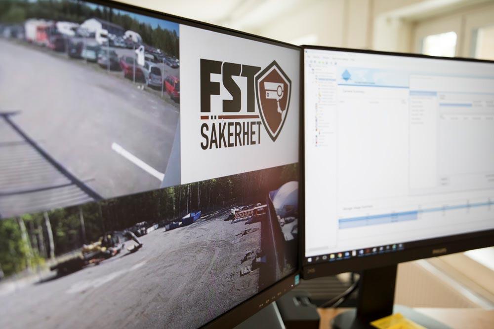 Vi genomför en videoanalys av en byggarbetsplats - FST Säkerhet