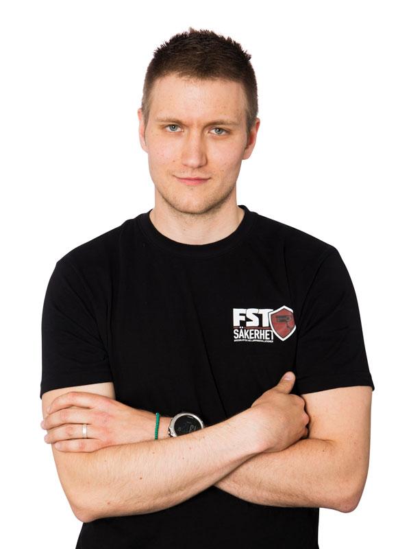 Niklas Eriksson - Projektledare Dalarna - FST Säkerhet