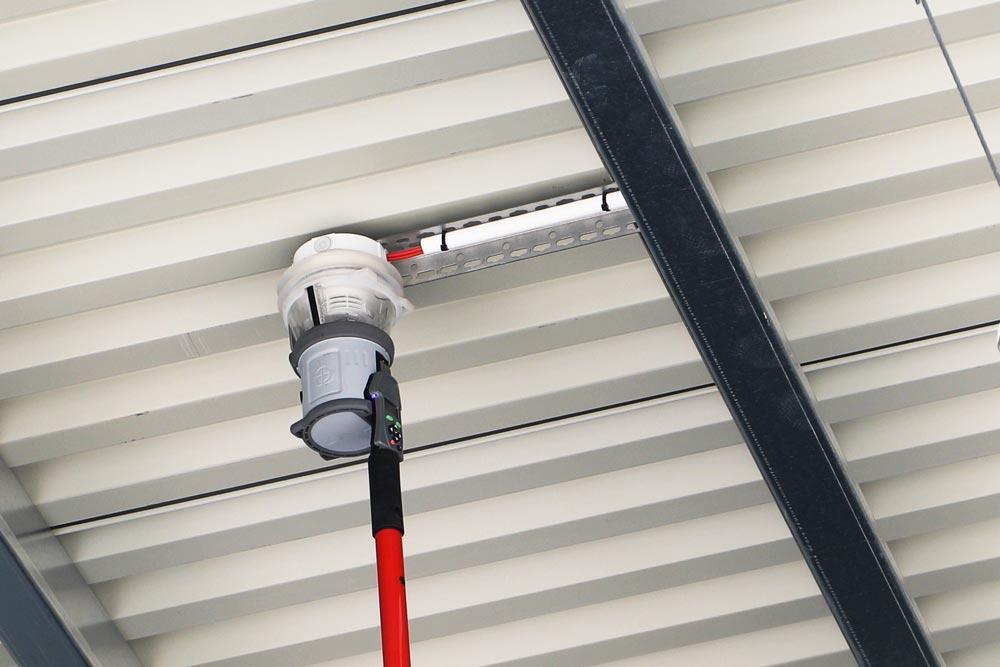 Vi genomför ett test av ett smart brandlarm - FST Säkerhet